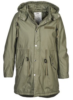 Cheap Monday WANTED women's Parka in Green