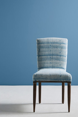Anthropologie Elza Indigo Dining Chair By in Blue Size ALL