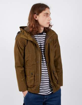 Barbour Hooded Bedale Casual Sage