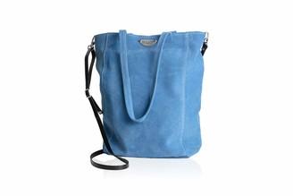 Borsa Dallaiti Design Women's in Pelle Scamosciata Con Tracolla in Cuoio Shoulder Bag