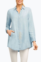 Foxcroft Tencel Tunic Shirt