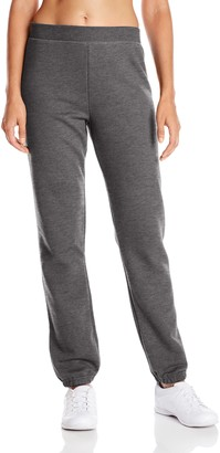 Hanes Women's Mid Rise Cinch Bottom Fleece Sweatpant