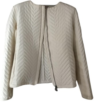 Colmar White Coat for Women