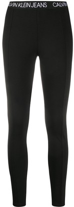 Calvin Klein Jeans Logo Print Leggings