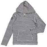 Lucky Brand Boy's V-neck Striped Hoodie