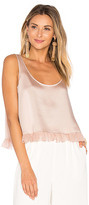Elizabeth and James Andrea Crop Top in Blush