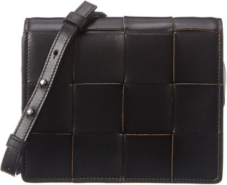 Bottega Veneta Mini Intrecciato Nappa Leather Crossbody