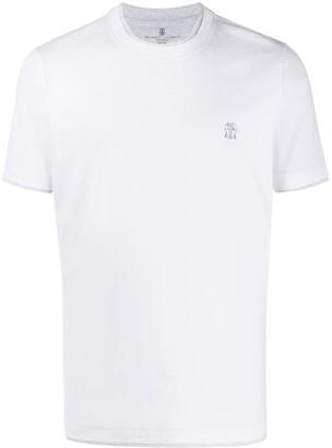 Brunello Cucinelli double trim T-shirt