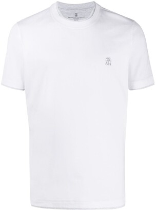 Brunello Cucinelli double trim T-shirt