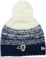 New Era Women's Los Angeles Rams Polar Dust Knit Hat
