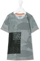 Vingino camouflage print T-shirt - kids - Cotton/Polyester - 8 yrs