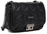 Replay Fw3694.000.a0128f, Women's Cross-Body Bag, Schwarz (), 6x13x20 cm (B x H T)