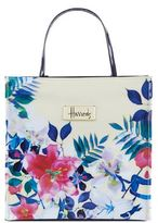Harrods Small Tropical Floral Shopper Bag