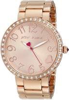 Betsey Johnson Women's BJ00236-03 Analog Display Quartz Watch