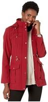 Vince Camuto Zip Front Jacket V29730 (Biking Red) Women's Coat