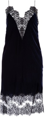 Stella McCartney Lace-Trimmed Day Dress