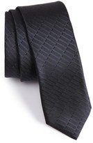 BOSS Solid Silk Textured Tie
