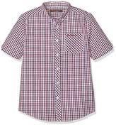 Ben Sherman Boy's House Check Poplin Shirt