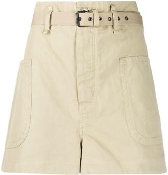 Etoile Isabel Marant High Waisted Bush Shorts