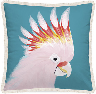 PODEVACHE - Gypsy Waves Parrot Cushion - 45x45cm