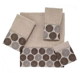 Avanti Dotted Circles 4 Pc Kit - Linen Beige