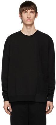 The Viridi-anne Black Pocket Sweatshirt
