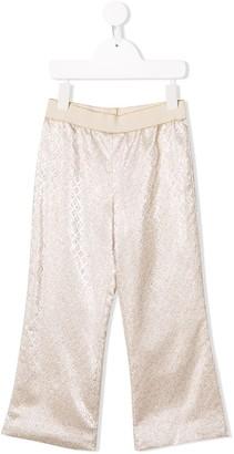 La Stupenderia Metallic Trousers