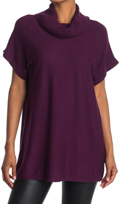 Vince Camuto Turtleneck Short Sleeve Knit Top