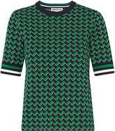 Whistles Foulard Jacquard T-shirt Knit