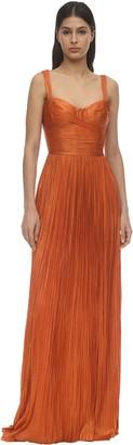 Maria Lucia Hohan Georgia Long Silk Tulle Dress
