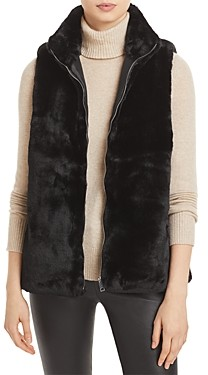 Echo Faux Fur Zip Front Vest