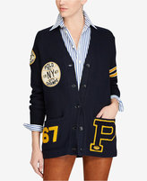 Polo Ralph Lauren Boyfriend Patch Cotton Cardigan