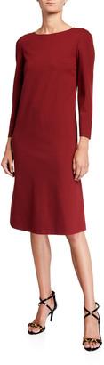 Lafayette 148 New York Lotus Punto Milano Knee-Length Dress