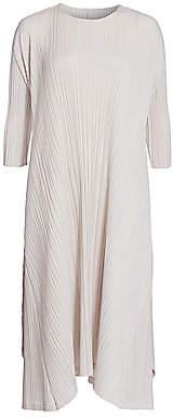 Pleats Please Issey Miyake Women's Mellow Pleats Long Dress