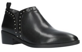 Bella Vita Lorraine Stud Detail Ankle Boots Women's Shoes