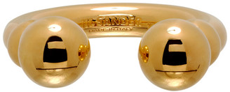 Jil Sander Gold Sphere Ring