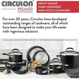 Circulon Premier Professional Hard Anodised 20 and 28 cm 2 Piece Frying Pan Set