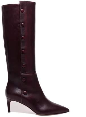 L'Autre Chose Button Up Pointed Toe Boots