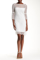 Yoana Baraschi Elodie Lace Sheath Dress