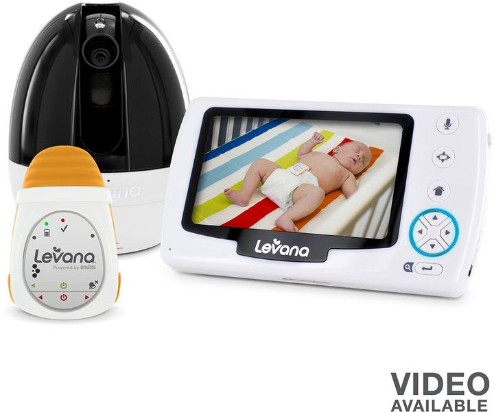 Levana stella video & oma portable baby movement monitor set