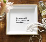 Pottery Barn Quote Tray