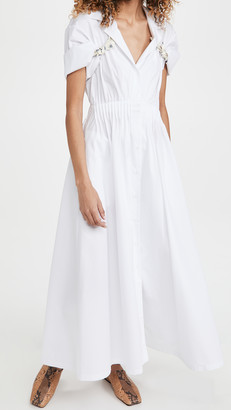 By Any Other Name Shirred Waist Tea Dress