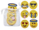 Kim Seybert Beaded Emoji Coasters/Set of 6