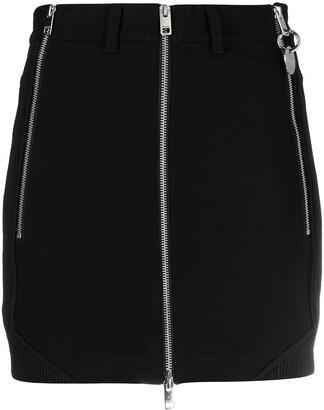 Diesel Zip-Detail Mini Skirt