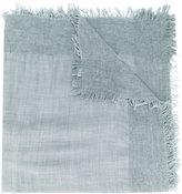 Faliero Sarti fringed knitted scarf
