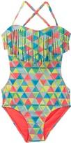 Roxy Geo Swimsuit (Toddler & Little Girls)