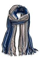 Missoni Women's Knit Zigzag Fringe Scarf