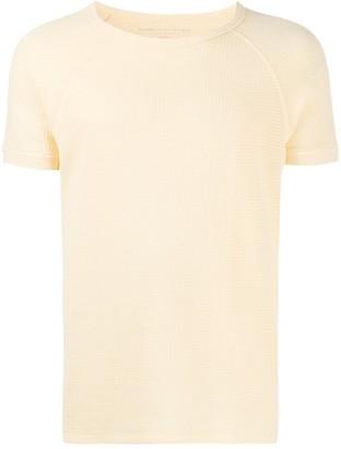 Majestic Filatures textured short sleeve T-shirt