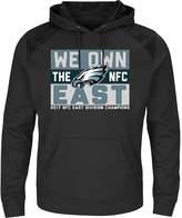Majestic Men's Philadelphia Eagles 2017 NFC East Division Champions Armor Hoodie