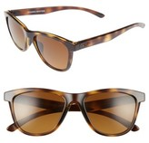 Oakley Women's Moonlighter 53Mm Polarized Sunglasses - Black/ Sapphire Iridium P